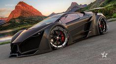 Lamborghini Sinistro Black