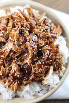 Crock Pot Teriyaki Chicken - easy slow cooker dinner that will quickly become a family favorite! (substitute w/gf soy sauce or Brags enzymes for gf version) Crock Pot Slow Cooker, Crock Pot Cooking, Slow Cooker Chicken, Slow Cooker Recipes, Crockpot Recipes, Cooking Recipes, Cooking Time, Crock Pot Teriyaki Chicken, Healthy Recipes