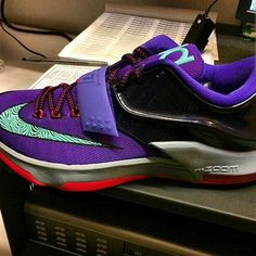 """The Nike KD 7 """"Cave Purple"""" will release on November 25th, 2014. If it wasn't for that surprising KD 7 N7 release this past weekend, we'd be here to tell you it's been quite some time since we've seen Kevin …"""
