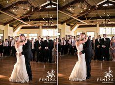 First Dance, Reception; Liberty House Wedding - courtesy of www.feminaphoto.com
