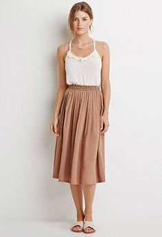 Pleated A-Line Skirt | Forever 21 Contemporary - 2000131225 $27
