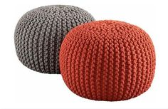 Unique Designs and Shapes of Round Pouf Furniture - http://www ...