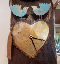 Jill Stewart is a jewellery and metal artist from Northumberland. Her clocks are made from etched brass and copper with titanium details. Her designs are based on some of her favourite wild creatures. We love this Bluebird design. Copper, Brass, Wild Creatures, Bluebirds, Clocks, Jewellery, Gallery, Metal, Artist