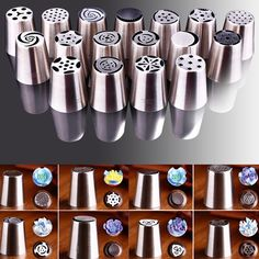 17 PCS Russian Cake and Pastry Decorating Nozzles Set