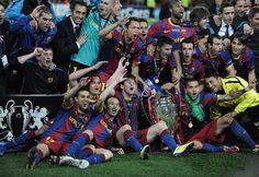 Barcelona - Champion of UEFA Champions League 2011