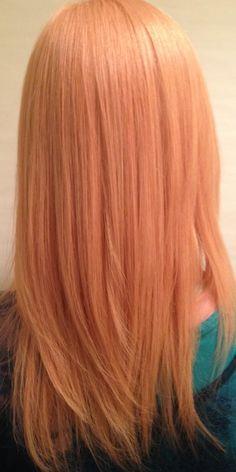 Peach Hair Color pastel 2016