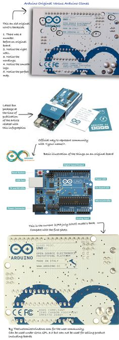 The basic reason to hunt behind Arduino Compatible is the price. Arduino Original is a bit costly, only that board is not enough – there are breadboard, minimum electronic tools, power supply for breadboard, multimeter and other test equipments – the cost goes over $300. More over, one Arduino might not be enough for one project...