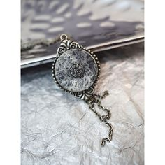 White Pendant Grey Pendant Black Round Pendant Christmas Day Gift ($22) ❤ liked on Polyvore featuring jewelry, pendants, circular pendant, antique pendants, antique circle pendant, bezel jewelry and chains jewelry