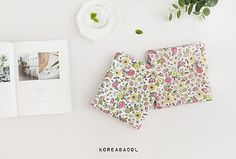 Flower fabric Flower pattern 150cmx90cm Waterproof by KoreaBacol