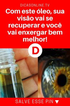 Recuperar vista | Com este óleo, sua visão vai se recuperar e você vai enxergar bem melhor! | Forma 100% natural de melhorar a visão. Aprenda ↓ ↓ ↓ Natural Medicine, Beauty Care, Health Fitness, Shot Glass, How To Make, Peppermint Oil Hair, Slim Down Drink, Cholesterol, Aromatherapy