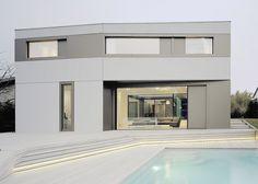 Concrete and aluminium S3 House by Steimle Architekten