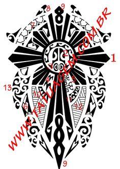 Good Luck Tattoo Studio - - Maori - Perda de Pai ou Mãe