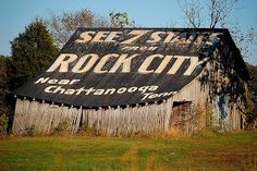*great blog post with review of Rock City*  See Rock City. Chattanooga, Tennessee / Lookout Mountain, Georgia