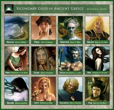 The Olympian Gods ruled over ancient Greece from Mt Olympus, while the Denizens of Hades resided over the underworld. In between these upper and lower realms lived the ancient Greeks, who shared their world with other mythical beings.