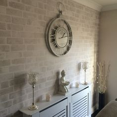 Brick White Peel and Stick Wallpaper Wall Sticker Outlet Peel