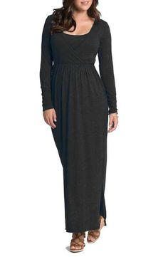 377c2c859d09 Bun Maternity Cross Top Maternity Maxi Dress Cross Top