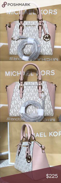 🌴Michael Kors Purse🌴 100% Authentic Michael Kors Large Purse Crossbody, brand new!😍😍😍color Vanilla/Ballet pink Michael Kors Bags Crossbody Bags
