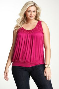 Simply Irresistible Crochet Neck Tank -