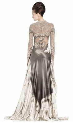 What Lyanna would have worn to the tourney at Harrenhall, Alexander McQueen