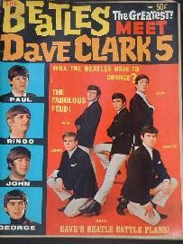 This is a very cool vintage magazine featuring stories, Bios, and pictures of The Beatles, Gerry & The Pacemakers, The Searchers, and The Dave Clark Five. Description from beatles.bizhat.com. I searched for this on bing.com/images