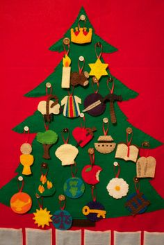 Hello interwebs.                   If you were tuned in last year for my Jesse Tree Advent Calendar posts, then you can p...