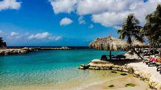 Curaçao, Caribe, praias de azul cristalino