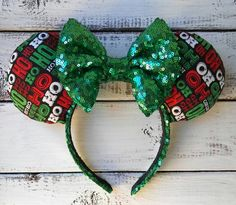 Heading to Disney Parks for the Holidays? Check Out These Christmas Mouse Ears