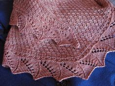 Ravelry: Demalangeni Shawl pattern by Wendy Neal Shawl Patterns, Sweater Knitting Patterns, Lace Knitting, Knitting Stitches, Cardigan Pattern, Stitch Patterns, Knit Or Crochet, Crochet Shawl, Tejidos