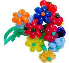 Balloon Daisy Flowers 9