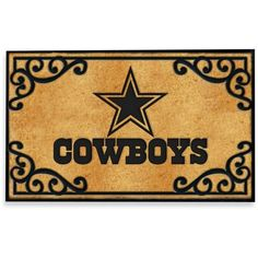 everyone else go back home ;-P Dallas Cowboys LED Doormat by NFL ...