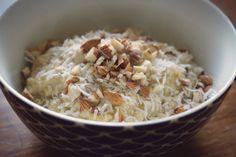 Orange and almond millet porridge | to her core