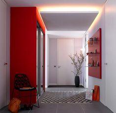indirekte beleuchtung im flur led in 2018 pinterest beleuchtung indirekte beleuchtung und. Black Bedroom Furniture Sets. Home Design Ideas
