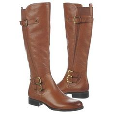 I just bought these ~ Hope they fit... found them in a 10 WW, Hoping the WW will be wider in the calf !! :) Naturalizer Johanna Wideshaft at Naturalizer.com
