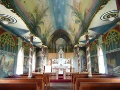 The Painted Church in Kona, Hawaii. I almost forgot I had been here until I saw this picture.