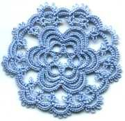 Lori S.'s doily - Center - Click for Enlargement