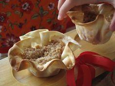 Receitas - From our home to yours - Português: Cestinhas de maçã