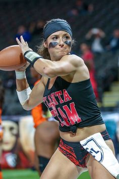 Ladies Football League, Football Girls, Lfl Players, Lingerie Football, Athletic Models, Tough Woman, Legends Football, Beautiful Athletes, Football Cheerleaders