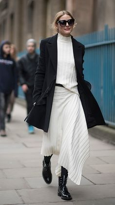 Olivia Palermo seen during the London Fashion Week February 2017 collections on February 19 2017 in London England