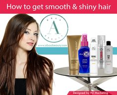 A guide to smooth, shiny & healthy hair, check out what your hair might be missing in order to shine! http://www.abaabeauty.com/blogs/news/101865857-how-to-get-smooth-shiny-hair