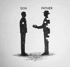 What it means to be a father. We need to appreciate dads more.