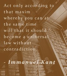 Immanuel Kant - The Metaphysics of Morals