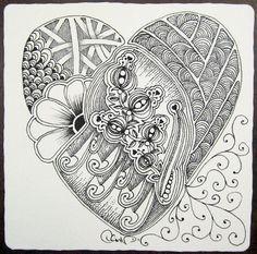 lovely zentangle