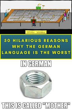 German may be the most widely spoken language in the European Union, but let's be honest - it's just downright funny sometimes. We roasted French, so now it's time for the German language to have its turn.