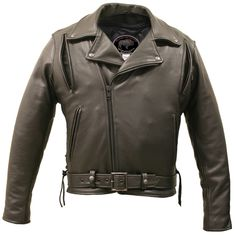 American Bison Biker Jacket | $599.00 |  This is the perfect combination of traditional and rugged style, upgraded with improved vents front and back, mesh shell lining for full ventilation, built with superior quality and craftsmanship, made of genuine American Bison leather, and the craftsmanship that only Hillside USA Leather can offer. Optional Feature: Armor-ready shoulder, elbow and back protector pockets. Body armor sold separately. American Bison leather is over 40% stronger than…