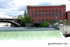 Spokane, Washington has the 2nd Largest Urban Waterfall in the United States after Buffalo, New York