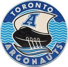 Toronto Argonauts Alternate Logo on Chris Creamer's Sports Logos Page - SportsLogos. A virtual museum of sports logos, uniforms and historical items. Football Team Logos, Sports Team Logos, Football Cards, Football Helmets, Sports Teams, Canadian Football League, American Football, Football Images, Sports Graphic Design