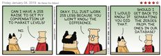 #Dilbert #data mention (database)