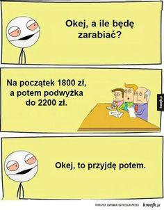 Potem wpadnę Very Funny Memes, Haha Funny, Lol, Polish Memes, Weekend Humor, Funny Mems, Best Memes, Funny Pictures, Jokes