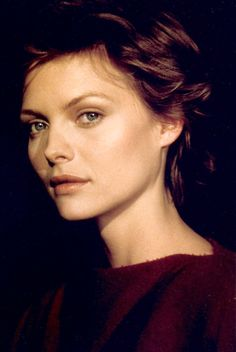 Michelle Pfeiffer as Isabeau in the movie Ladyhawke