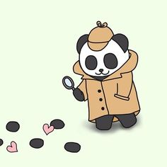 Don't find love let love find you that's why it's called falling in love.  I am a detective panda.